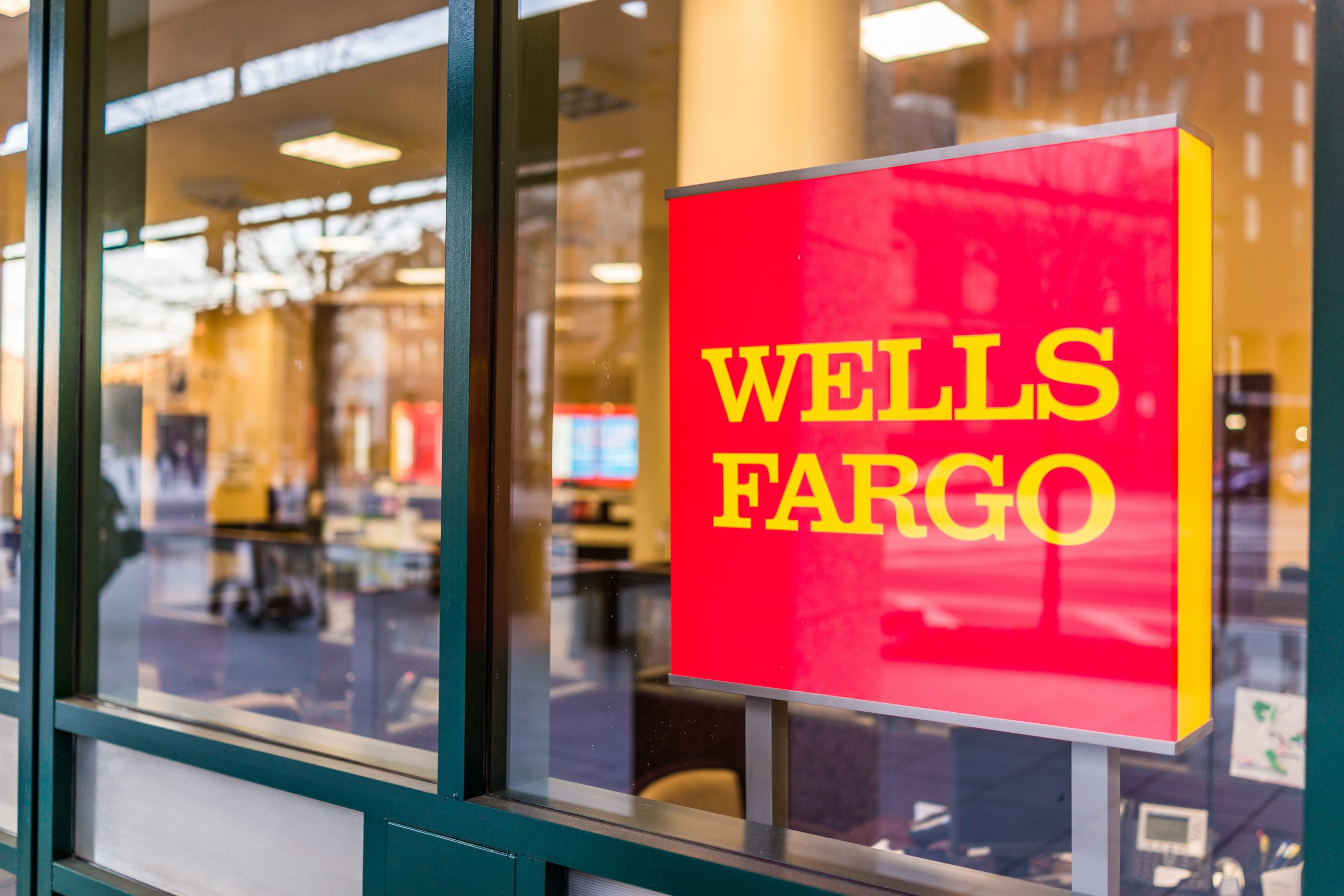 Wells Fargo bank entrance